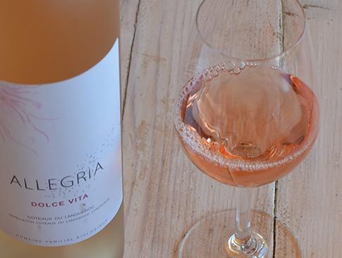Le Dolce Vita rosé 2015 est en bouteille!