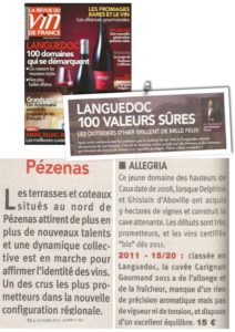 2012.10.RVF 100 meilleurs vins languedoc